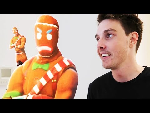 Surprising LazarBeam With A LIFE SIZE GINGY