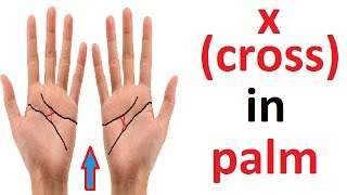 X (CROSS) SIGN IN PALM |DETAILED ANALYSIS | MUST WATCH..