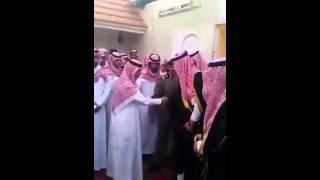 الأمير محمد بن نايف يعزي عائلة تركي الرشيد