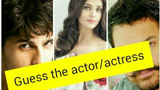 Guess the actor/actress by their childhood pictures |challenge for all bollywood lovers|