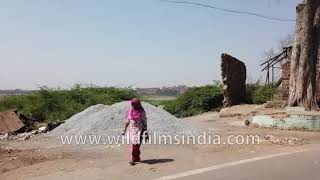 Auto ride in Agra city: gyro stabilized 4K