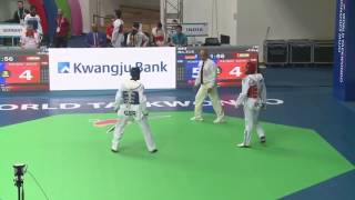 India vs Germany men -63kg (R64) WTF World Taekwondo Championship 2017 Muju