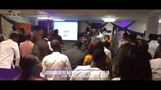 WOTK Choir Ministering at the Joshua Generation Conference 2016