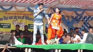 Choti Sapna Ko Stej Pe Kiss | Choti Sapna with Masoom Sharma | Haryanvi Dance 2017 ||