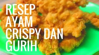 Inilah Cara Membuat Ayam Filet yang Gurih dan Crispy Ala KFC , Mudah dan Cepat