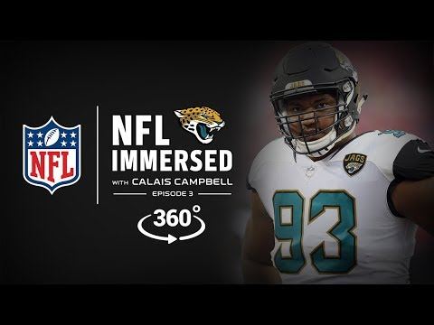 The Playoff Push 👊 | Calais Campbell Ep. 3 | NFL Immersed | 360° Video