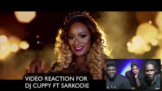 Cuppy Ft. Sarkodie - Vybe (Official Video) VIDEO REACTION