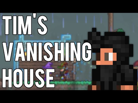 Tim's Vanishing House   Terraria Silly Life Hack
