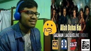 Allah Duhai Hai Song Video - Race 3|Salman Khan|JAM8 (TJ)|Reaction & Thoughts