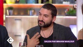 Dalida par Ibrahim Maalouf, interview et live - C à Vous - 20/11/2017