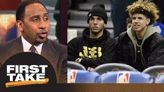 Stephen A. Smith: We don't even know if LiAngelo & LaMelo can play D1 basketball | First Take | ESPN