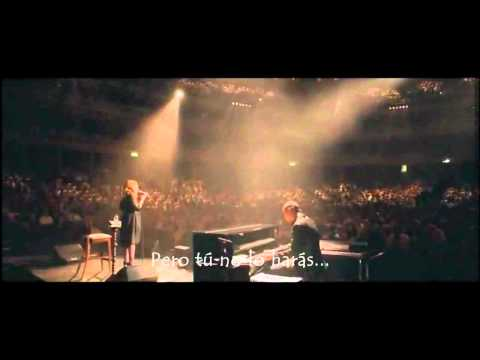 Adele I Can t Make You Love Me live Subtitulada al Español