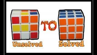 How to Solve the Rubik's cube! (universal solution) Parishkrit Bastakoti