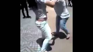 Girls Fighting remove dress and showing bra and boobs in public Hot Funny and Amazing
