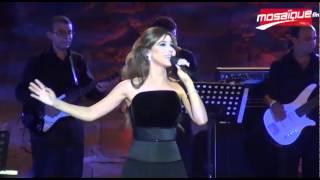 Nancy Ajram au Festival de Carthage