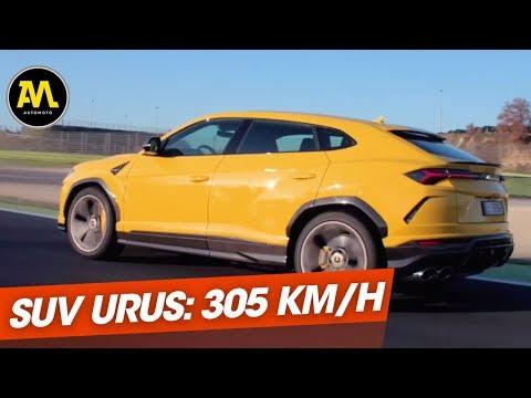 Lamborghini Urus le super SUV à 300 Km h