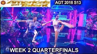 Quin and Misha Dancing Duo GREAT DANCE QUARTERFINALS 2 America