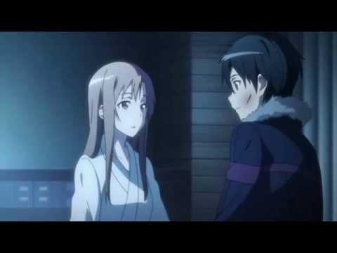 Kirito and Asuna Reunion