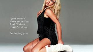 Britney Spears - I've Just Begun (Lyrics)