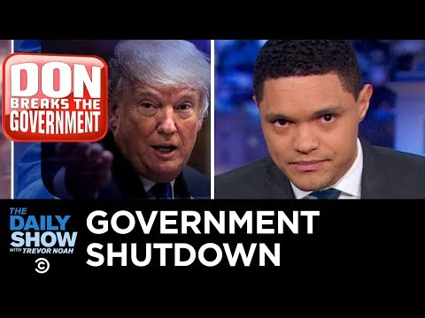 The Government Shutdown and Trump's Escalating Wall Gambit The Daily Show