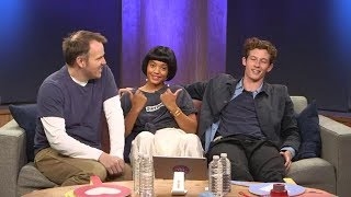 Kiersey Clemons, Marc Webb, and Callum Turner of The Only Living Boy live video from fb ny
