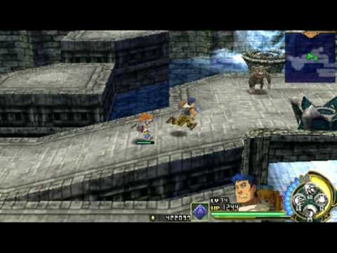 Ys Seven PSP Gameplay Video HQ