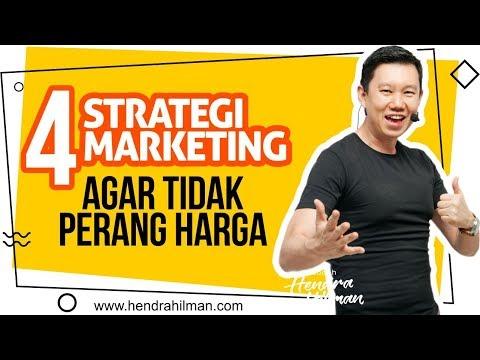 Tips Bisnis - 5 Strategi Marketing agar TIDAK  PERANG HARGA