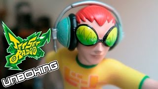 JET SET RADIO BEAT FIGURE UNBOXING & COLLECTION First 4 Figures