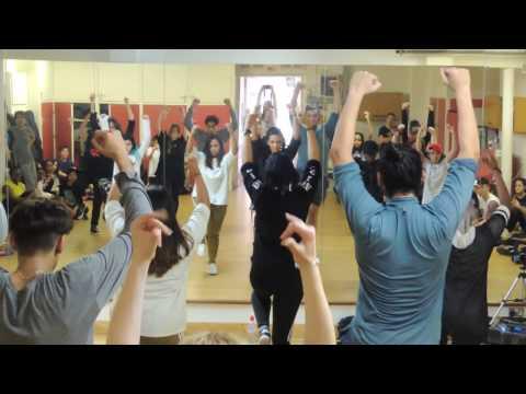 LKD Class - LoKo and Hallyu performers dancing to BTS Gayo Daejun Live Performance