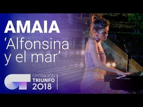 Xxx Mp4 AMAIA Canta 39 Alfonsina Y El Mar 39 Casting Final OT 2018 3gp Sex