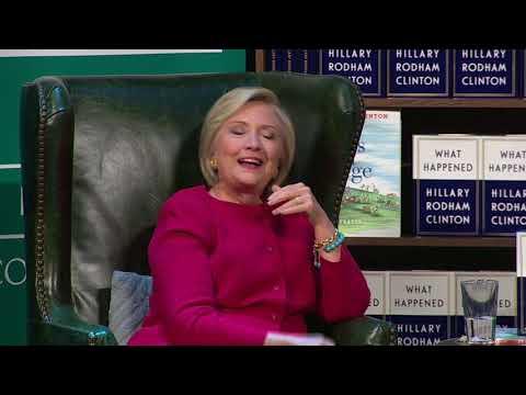 Clinton jokes that she ran against Trump and Putin
