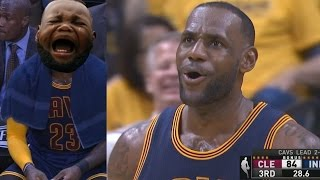 Pacers Blew 26 Point Lead! LeBron Epic Triple Double Comeback! Cavs Pacers Game 3