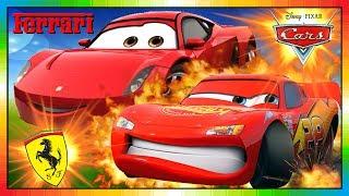 Cars en ESPAÑOL ★★ MINI Cars la pelicula completa ★★ FERRARI GIOVANNI ★★ Cars 3 viene en 2017 ☺
