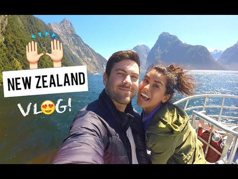Travel Vlog NEW ZEALAND Contiki Trip Sazan Hendrix