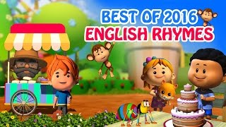 Best of 2016 English Rhymes | 15 mins compilation | LIV Kids Nursery Rhymes and Songs | HD