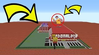 HOW MUCH TNT WILL IT TAKE TO BLOW UP MCDONALDS?!?