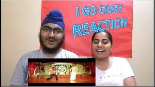 I Go Crazy Song Reaction | Jr NTR
