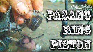 Cara Pasang Ring Piston 2 Tak, Seher, Blok Yamaha F1Z R & Finishing