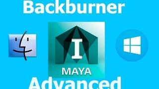 Maya Backburner on Mac to PC Farm Part I