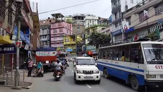 Streets of Aizawl City on Sunday *raw sound* #phonecam