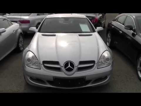 Almanya'da Ikinci El Araba Fiyatlari - Mercedes SLK # 008 - Autohändler in Deutschland