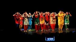 Indian group Champa, Russia, Yoshkar-Ola  - Boliyaan  Giddha