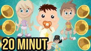 █■█ █ ▀█▀ MEGA ZESTAW Piosenek dla dzieci - Kompilacja - Zajmij swoje dziecko na 20 min  █■█ █ ▀█▀