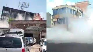 ASI SE VIVIÓ EL TERREMOTO 7,1 QUE SACUDIÓ MÉXICO 19.9.17 NUEVAS IMÁGENES IMPACTANTES