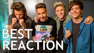 One Direction - BEST REACTION TO FANS I PART 1