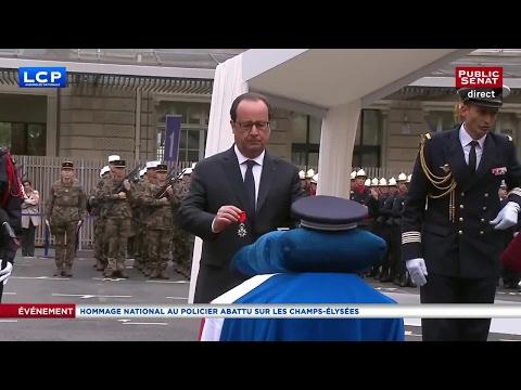 Hommage national à Xavier Jugelé - Allocution de François Hollande