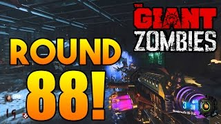 'THE GIANT' NEW HIGHEST RECORD! ROUND 88 FULL GAMEPLAY! ~ Black Ops 3 Zombies [Livestream Replay]