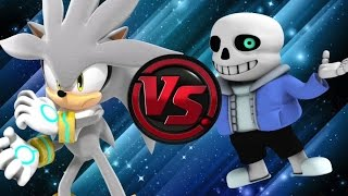 DJ Reacts to SANS vs SILVER! Cartoon Fight Club Episode 60