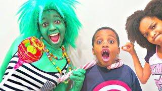 Bad Baby Giant Chupa Chups Lollipops and Giant Candy Chocolate Troll! Shasha and Shiloh - Onyx Kids