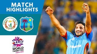ICC #WT20 Afghanistan vs West Indies Match Highlights
